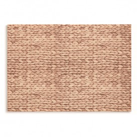 "Cotton Placemat ""Day Drap"" Raffia 32x45cm (12 Units)"