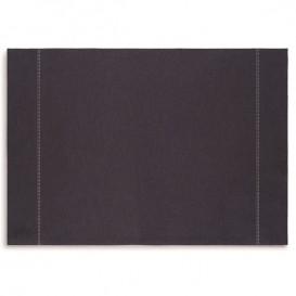 """Cotton Placemat """"Day Drap"""" Dark Blue 32x45cm (12 Units)"""