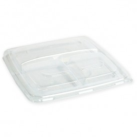 Plasric Lid PP for Bowl Clear 3C 23cm (25 Units)