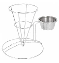 Display Basket Containers Steel with Cup Ø8,3x12,7cm