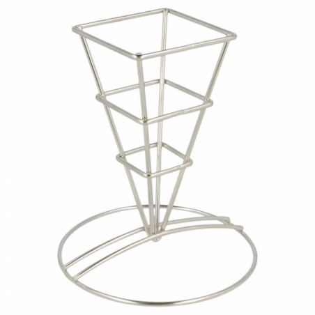 Serving Basket Containers Steel 6,4x13,3cm (12 Units)