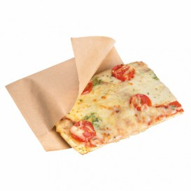 Paper Deli Wrap Grease-Proof Natural 25x13/10cm (100 Units)