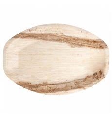 Palm Leaf Tray Oval Shape 37x25cm (200 Units)