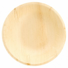 Palm Leaf Bowl Round Shape Ø18x3,5cm (200 Units)