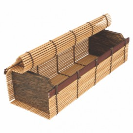 Bamboo Sushi Container 23x8x6cm (1 Unit)