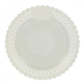 Paper Plate Round Shape Doilie White 23cm (50 Units)