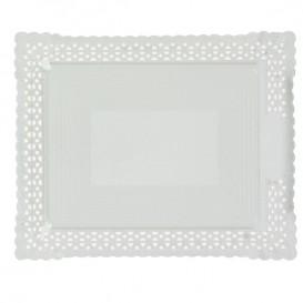 Paper Doilies Round shape White 200 mm (50 Units)