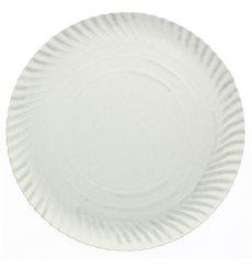 Paper Plate Round Shape White 14cm 450g/m2 (100 Units)