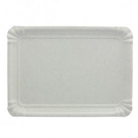 Paper Tray Rectangular shape White 25x34 cm (400 Units)