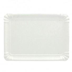 Paper Tray Rectangular shape White 16x22 cm (100 Units)