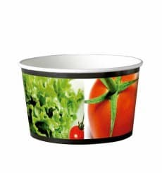 Paper Salad Bowl Large size 1030ml (360 Units)