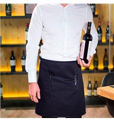 Serving apron pocket Black 75x50cm (20 Uts)