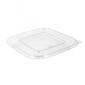 Plastic Lid PET for Plastic Bowl Flat 190x190mm (300 Units)