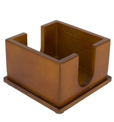 Wooden Napkin Holder (10 Units)
