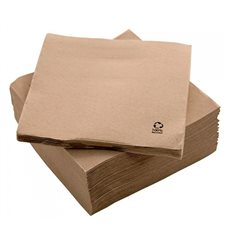 "Paper Napkin Eco ""Recycled"" 20x20cm 2C P-P (100 Units)"