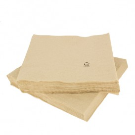 "Decorative Paper Napkin Eco ""Recycled"" 40x40cm (50 Units)"