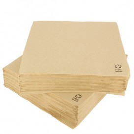 Paper Napkin Kraft 2C 33x33cm (50 Units)
