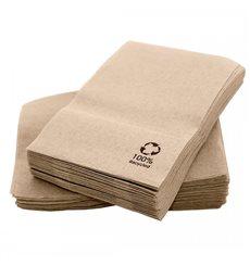 Paper Napkins Miniservis Eco Kraft 17x17cm (200 Units)
