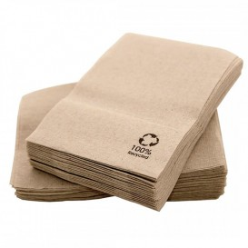Paper Napkins Miniservis Eco Kraft 17x17cm (14.000 Units)