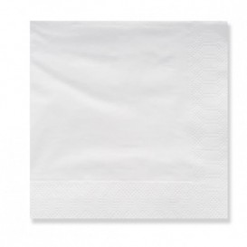 Paper Napkin 3 Layers White Edging 20x20 (100 Units)