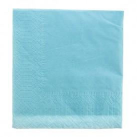 Paper Napkin Edging Light Blue 20x20 2C (6000 Units)