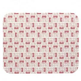 "Paper Lid for Foil Pan ""24 Cannelloni"" 2400ml (400 Units)"