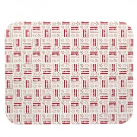 "Paper Lid for Foil Pan ""24 Cannelloni"" 2400ml (100 Units)"
