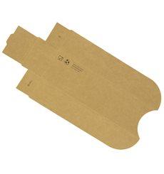 Paper Hot Dog Tray Kraft 17x5x3,5cm (100 Units)