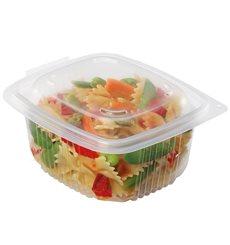 Plastic Container Microwave PP Transparente 750ml 14,2x12,3cm (50 Units)
