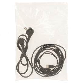 Plastic Zip Bag Autoseal 25x35cm G-160 (100 Units)