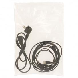 Plastic Zip Bag Autoseal 25x35cm G-160 (1000 Units)