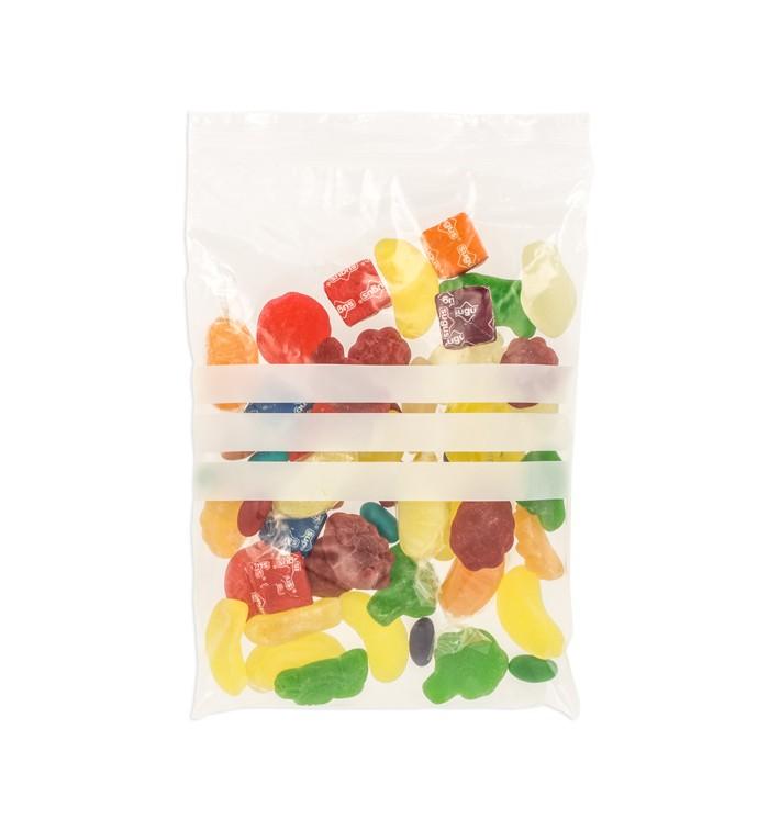 Plastic Zip Bag Autoseal Write-On Block 12x18cm G-160 (1000 Units)