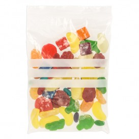 Plastic Zip Bag Autoseal Write-On Block 16x22cm G-160 (100 Units)