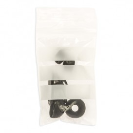 Plastic Zip Bag Seal top Write-On Block 7x10cm G-200 (100 Units)