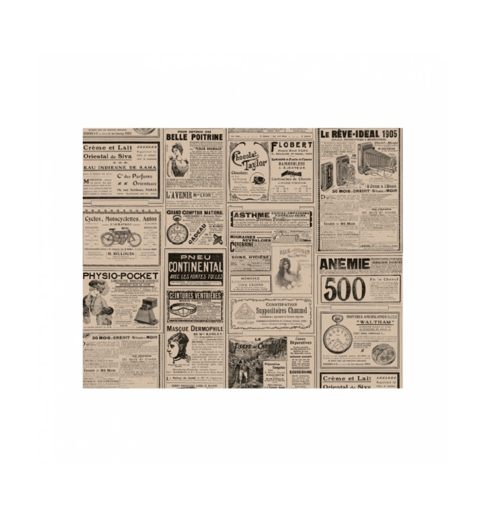 """Paper Food Wrap Grease-Proof """"Times"""" Kraft 31x38cm (4000 Units)"""
