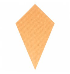 Paper Carrugated Dipping Cone Kraft 27cm 250g