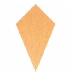Paper Carrugated Dipping Cone Kraft 27cm 250g (100 Units)