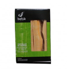 Wooden Knife Natural 16cm (1000 Units)