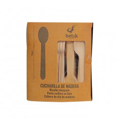 Wooden Mini Spoon Natural 11cm (100 Units)