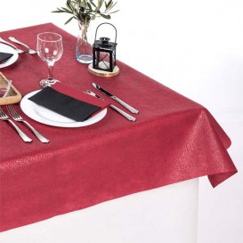 Non-Woven PLUS Tablecloth Cream 120x120cm (500 Units)