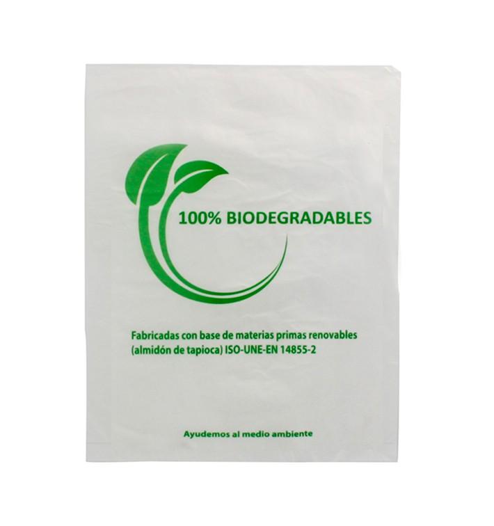 Plastic Bag 100% Biodegradable 23x30cm (100 Units)