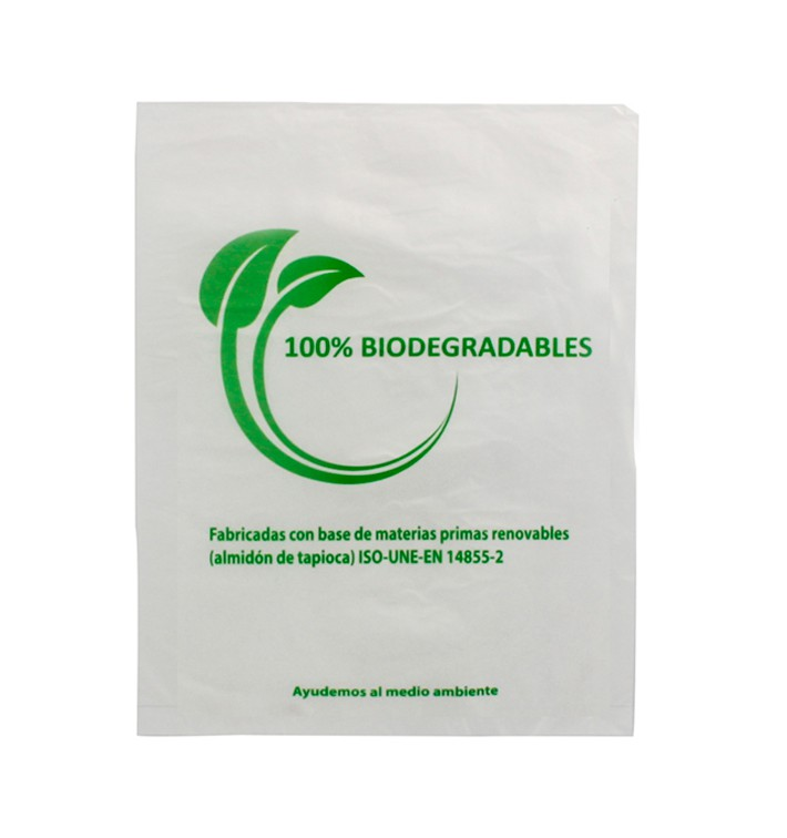 Plastic Bag 100% Biodegradable 23x30cm (3000 Units)