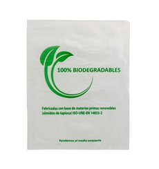 Plastic Bag 100% Biodegradable 23x30cm (3000 Units)