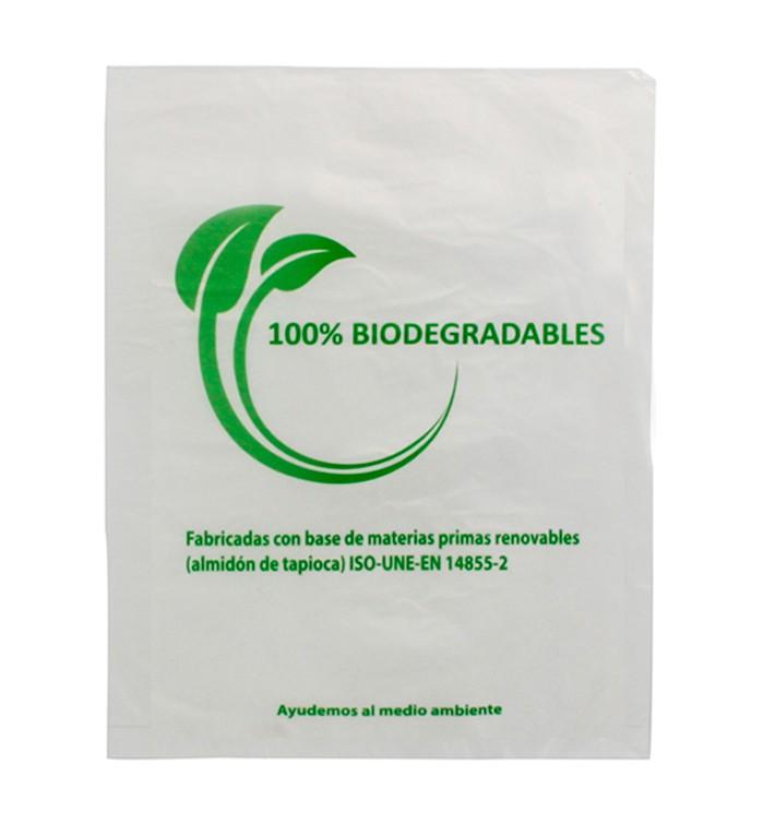 Plastic Bag 100% Biodegradable 30x40cm (100 Units)