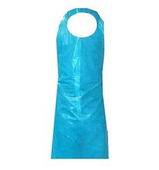Disposable Plastic Apron PE Block G160 Blue 76x120cm (100 Units)