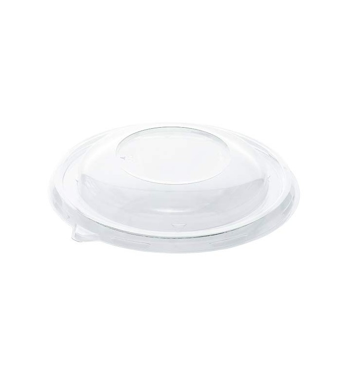 Plastic Lid RPET Crystal for Bowl Ø17cm (50 Units)