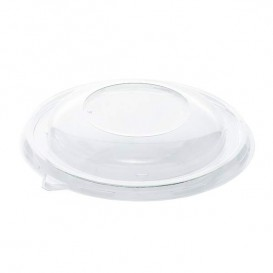 Plastic Lid RPET Crystal for Bowl Ø17cm (300 Units)