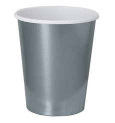 "Paper Cup Silver 9Oz/240ml ""Party"" (10 Units)"