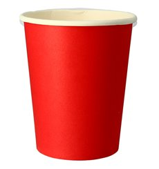 "Paper Cup Red 9Oz/240ml ""Party"" (10 Units)"