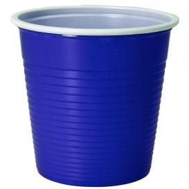 Plastic Shot PS Bicolour Blue 230 ml (30 Units)